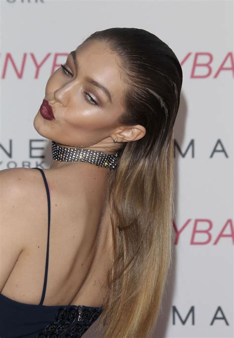maybelline new york gigi hadid gigi hadid maybelline new york s beauty bash in los