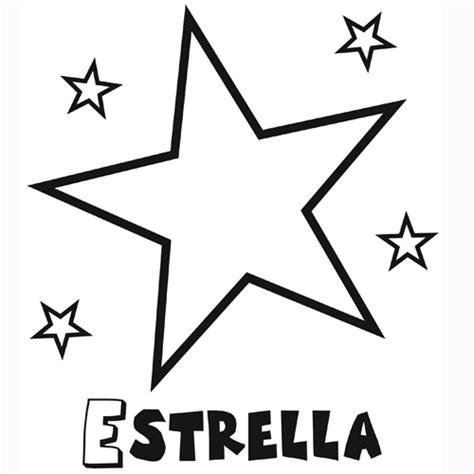 imagenes para dibujar a lapiz estrellas estrella para colorear