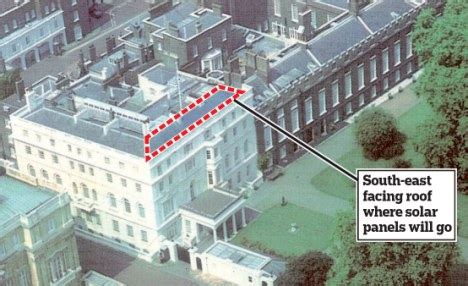 19th Century Floor Plans by Prince Charles To Generate His Own Power With Solar Panels