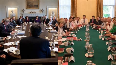 difference between us cabinet vs uk cabinet