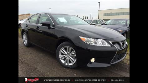 lexus black 2015 black 2015 lexus es 350 premium package review east