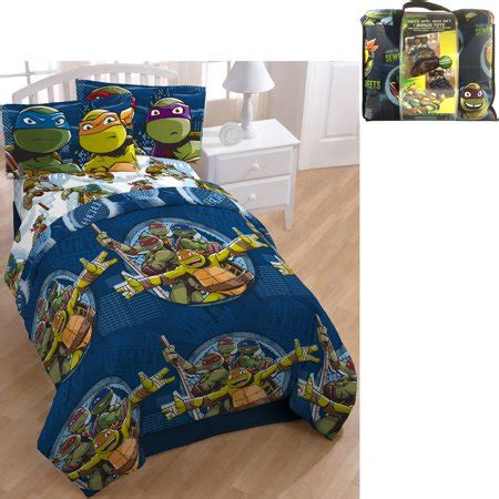 Tmnt Bedding by Nickelodeon Mutant Turtle Bed In A Bag 5