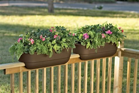 deck trends 2017 porch rail planters hamipara com