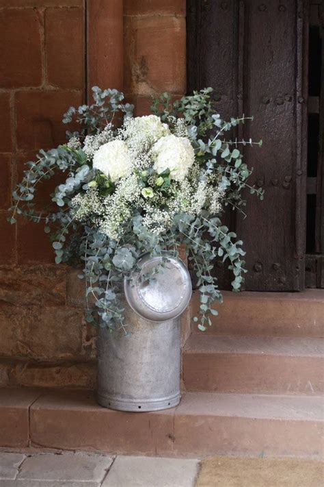 1000  images about Pretty Wedding milk churns on Pinterest