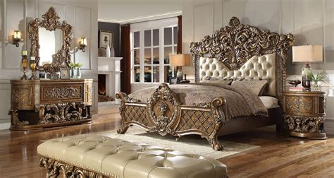 Bedroom Set Designs 5 Homey Design Hd 8018 Marbella Bedroom Set