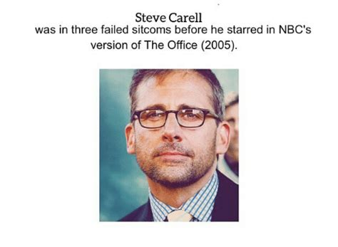 Steve Carell Memes - steve carell was in three failed sitcoms before he starred