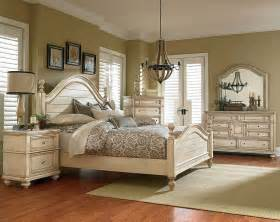 white antique bisque finish suite chateau bedroom