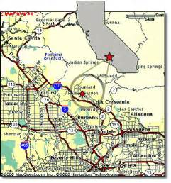 sunland california map sunland and tujunga ca business directory and community
