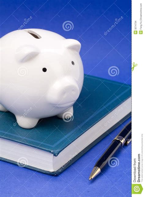 book piggy bank book and piggy bank stock images image 3274734