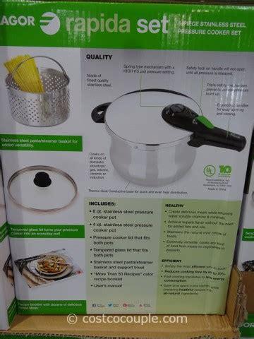 Fagor Rapida Pressure Cooker Set