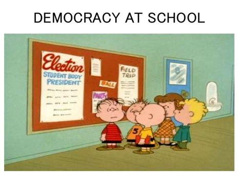 Or At School Democracy At School