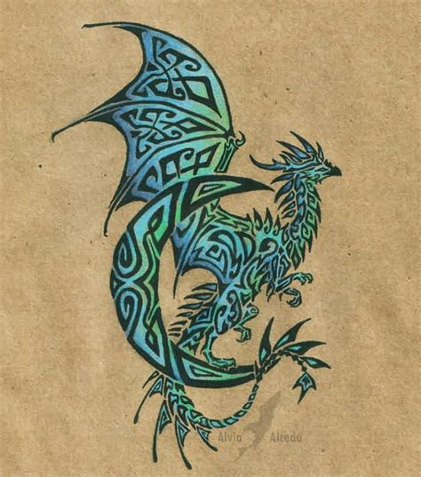 celtic dragon tattoo celtic collections