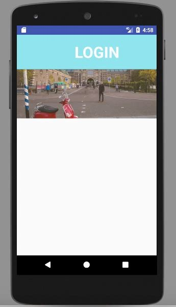 videoview layout width android align buttons with videoview using constraint
