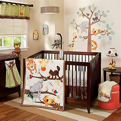 lambs and ivy crib bedding lambs ivy 174 treetop buddies crib bedding collection bed