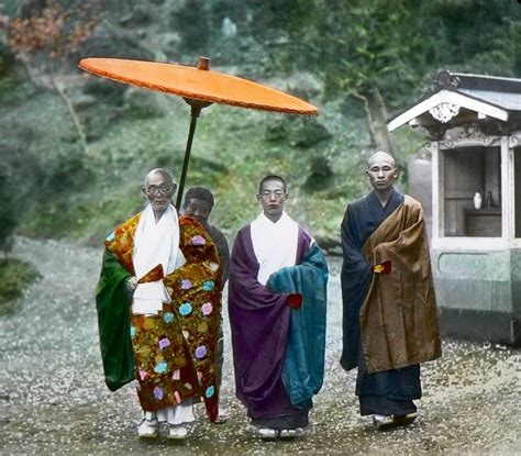in color color photos of in japan in the late 19th century