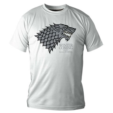 Tshirt Winter Is Coming Stark t shirt homme stark winter is coming forom47