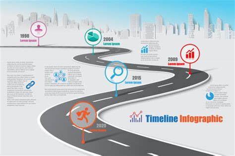 road map illustrations royalty  vector graphics