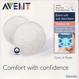 Pad Breast Pad Isi 24 avent washable breastpad asibayi