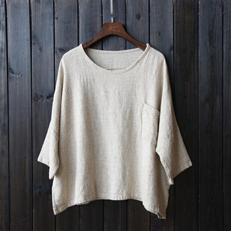 Linen Cotton Blouse 2016 cotton linen shirt original cotton