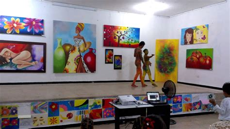 imagenes visuales o artisticas muestras culturales en el acto inaugural de las