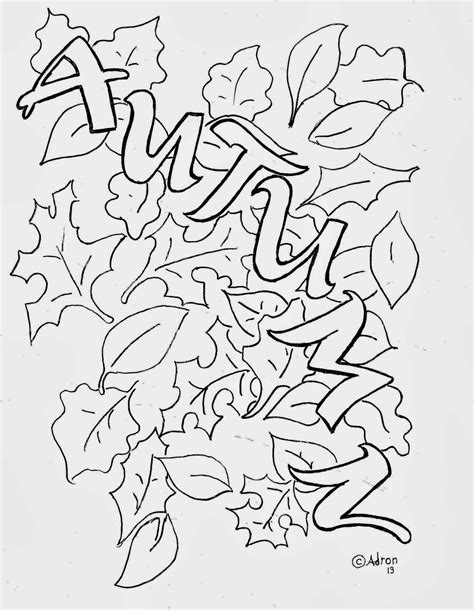 coloring pages autumn autumn leaves coloring pictures images