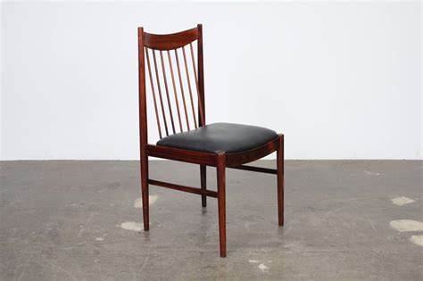 rosewood dining room furniture set of four arne vodder rosewood dining chairs for sale at