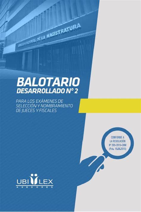 balotario desarrollado para el concurso de nombramiento de balotario desarrollado 2 by edinson crespo issuu
