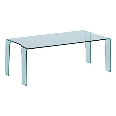 puro tempered glass coffee table dwell