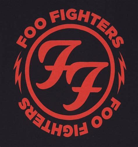 Foo Fighters Logo s black foo fighters logo t shirt