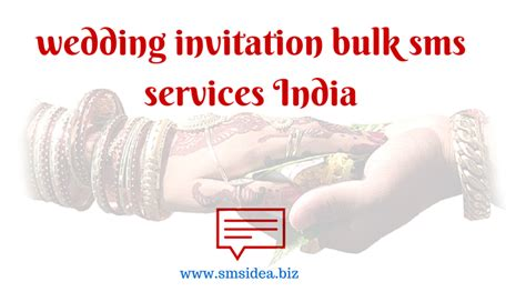 my marriage invitation sms through mobile bulk sms for wedding invitation marriage reminder sms services in india