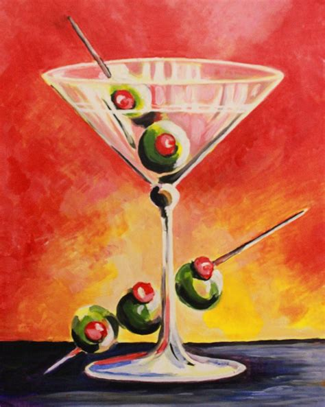 martini painting 87 best martini paintings images on pinterest martinis