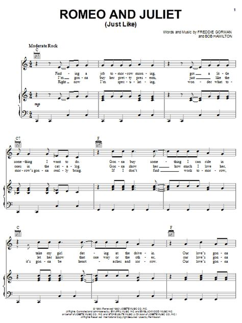 romeo and juliet theme related songs romeo and juliet just like sheet music direct