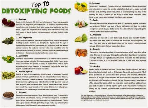 10 Best Detox Foods health nutrition tips top 10 detoxifying foods