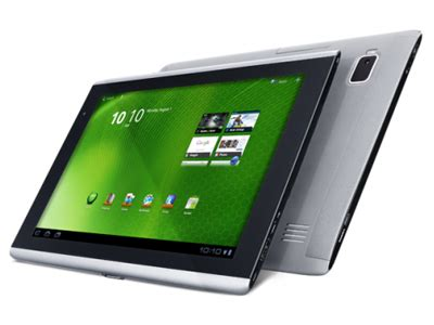 acer iconia tab a500 notebookcheck.net external reviews