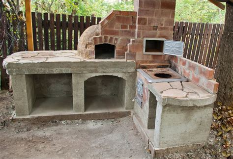 backyard brick oven plans how to finish the base of a pizza oven howtospecialist how to build step by step