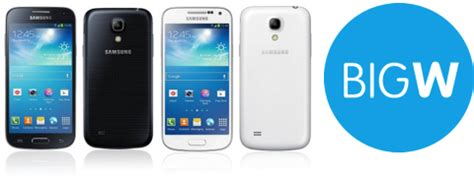 samsung galaxy s4 mini now available from big w for 548 ausdroid