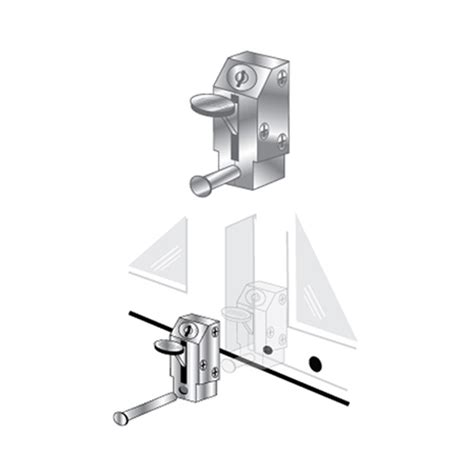 Patio Door Lock Keyed Lever Pro Lok Keyed Patio Door Lock