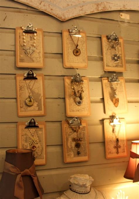 Handmade Jewelry Display Ideas - handmade jewelry uniquely displayed jewelry display