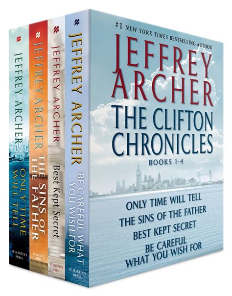 this was a the volume of the clifton chronicles books the clifton chronicles books 1 4 jeffrey archer macmillan