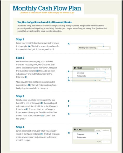 printable budget planner dave ramsey search results for dave ramsey monthly budget forms