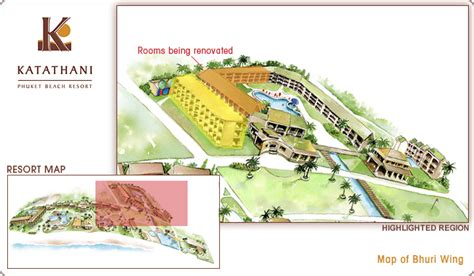 katathani resort map katathani phuket resort new deluxe rooms bhuri wing