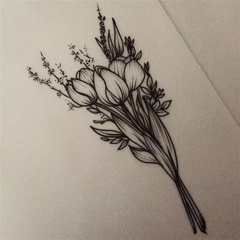 rebecca tattoo designs 25 best ideas about tulip on tiny