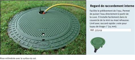 utilisation eau de pluie maison 3406 cuve d eau pluie platine avec pompe et filtre optimax pour
