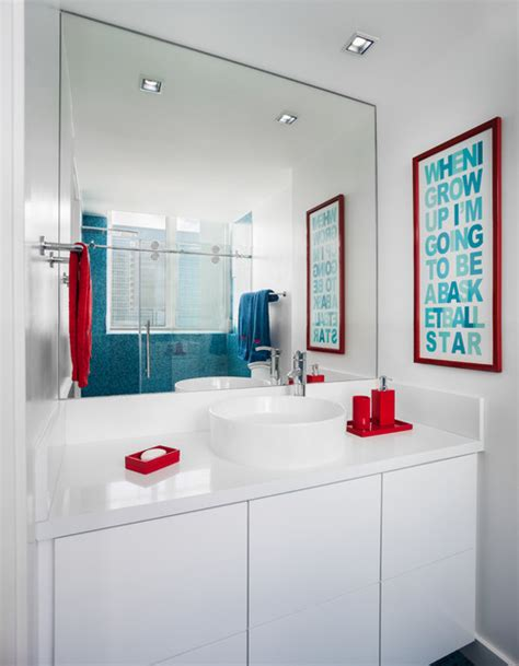 modern kids bathroom boy s bathroom jade modern bathroom miami by 2id
