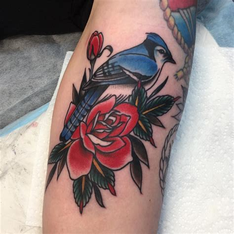 blue jay tattoo therealjonftw blue for nat thanks heaps