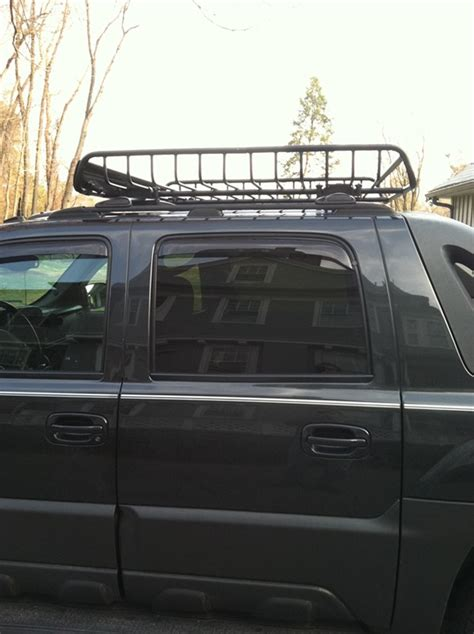 Roof Rack For Chevy Avalanche Yakima Megawarrior Large Roof Rack Cargo Basket And