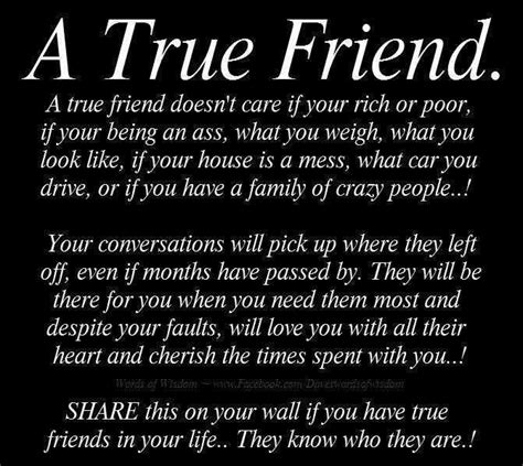How To Find Your One True by Quotes About Finding Out Who Your True Friends Are Image