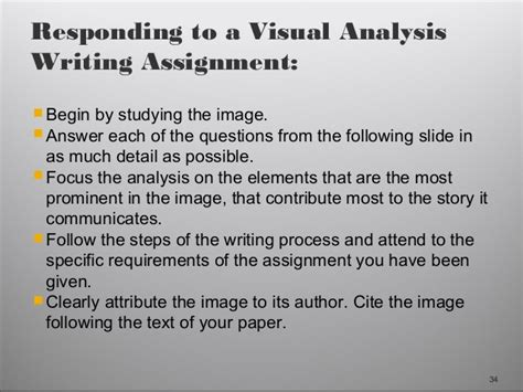 How To Make An Analysis Paper - sle of a visual analysis essay skapa ru