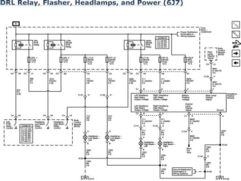 2007 chevy impala headlight wiring diagram wiring forums