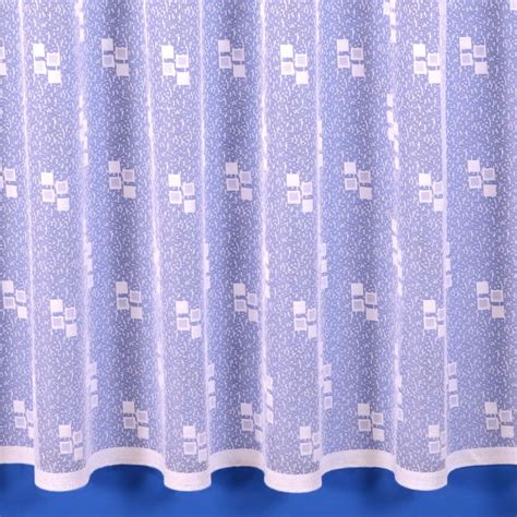 Bright White Curtains Net Curtain In Bright White Sold By The Metre